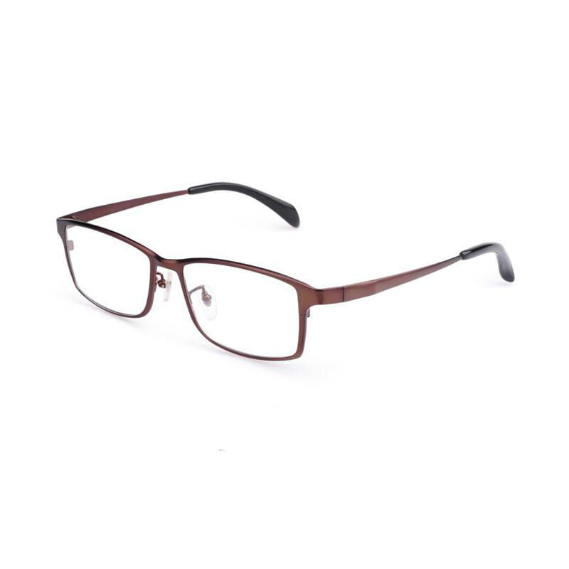 100% Pur Titane De Haute qualité D'affaires Modèles Myopie Optique Verres PLEINS Cadres big face hommes lunettes cadre en verre tg1088