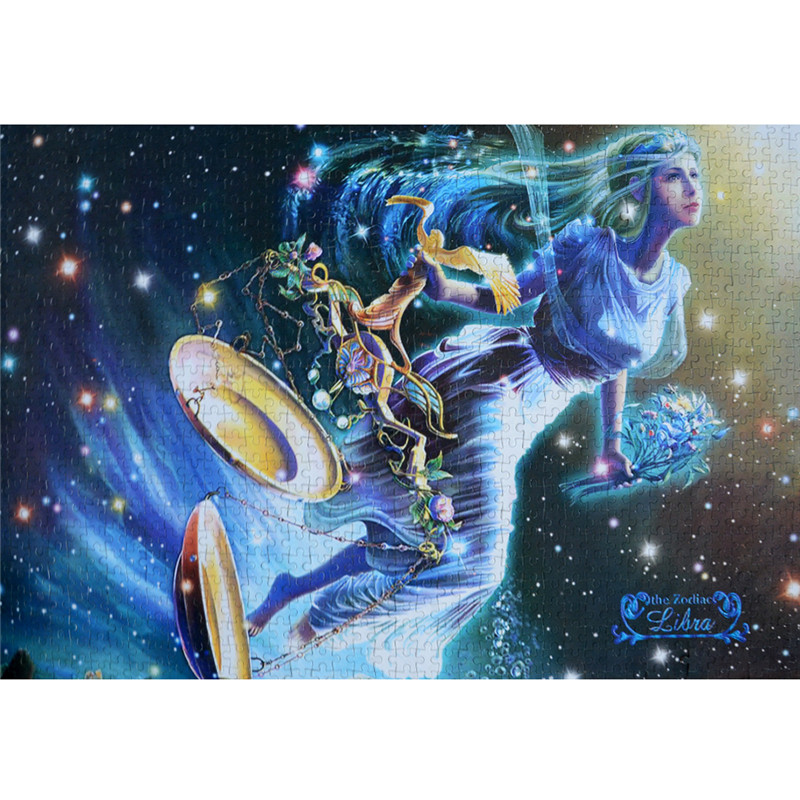 US $28 52 |Starz 1000Pcs Libra Horoscope Common Paper Puzzle Twelve  Constellations Theme Toys Best Adult Gift 50cm*75cm-in Puzzles from Toys &  Hobbies