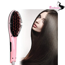 Cheaper Hair Straightening Brush Best for Beauty Styling Salon Care Thermal Equipment Professional Digital Electric Straightener Comb