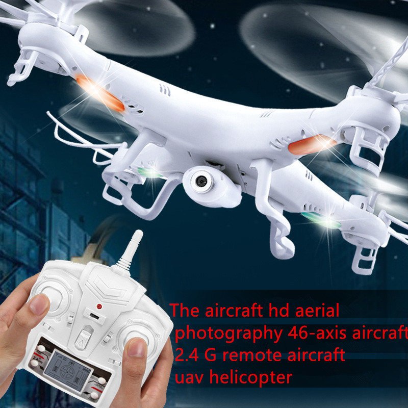 drone with camera H5C 2.4Ghz 6-Axis Wth Gyro rc Quadcopter One Key Return headless mode rc aircraft RTF helicopter toy kid gifts huanqi 898c 2 4g 4ch 6 axis gyro rtf remote control quadcopter auto return drone toy