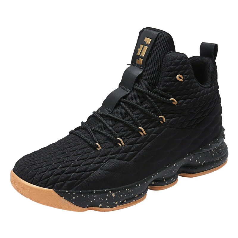 High top Lebron Basketball Shoes Men Women Cushioning Breathable Basketball Sneakers Anti skid Athletic Outdoor Man Sport Shoes in Basketball Shoes from Sports Entertainment