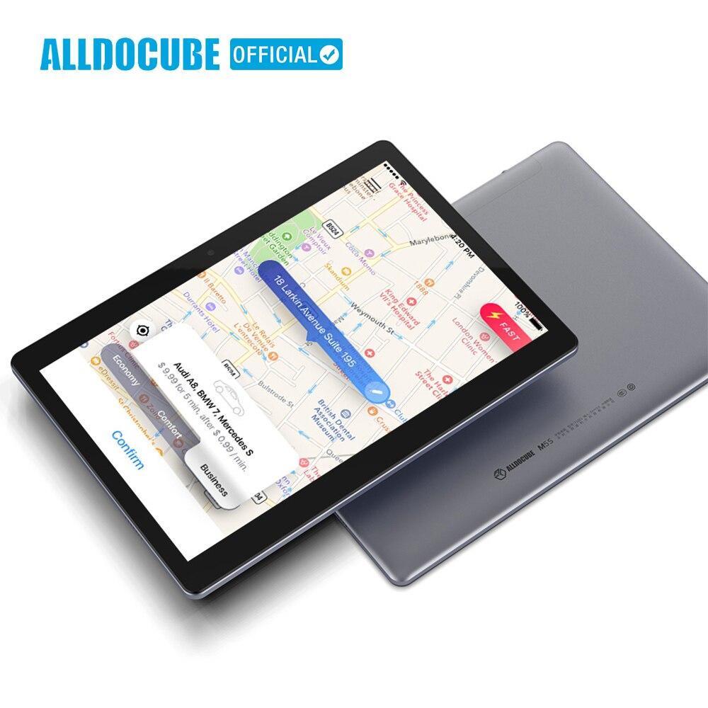 ALLDOCUBE M5S Android 8.0 4G LTE 10.1 pollici MTK X20 10 Core Chiamata di Telefono Tablet PC 1920*1200 FHD IPS 3 GB di RAM 32 GB di ROM GPS Dual SIM