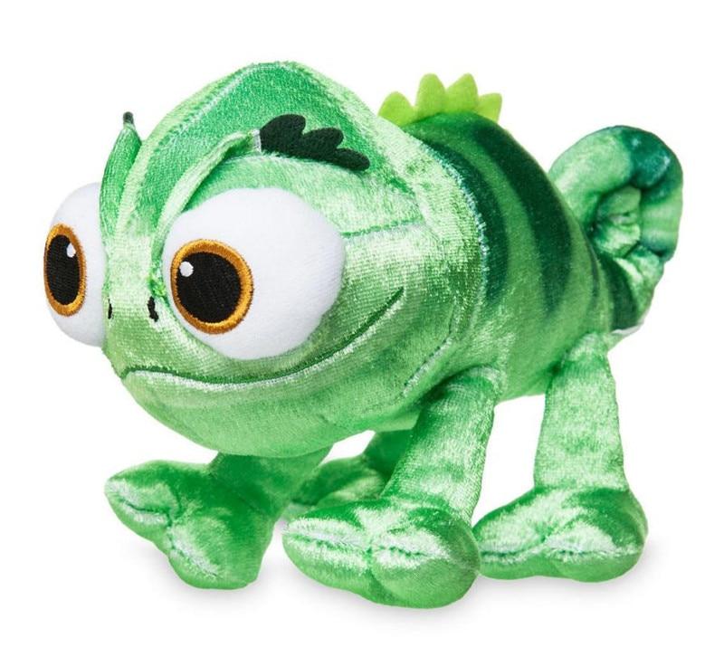 Princess Tangled Rapunzel Cute Pet Pascal Chameleon Lizard Plush Toys Stuffed Animals 20cm 8'' Baby Girls Toys for Chilren Kids