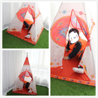 HINST Children Kids Play Indian Style Tent In/Outdoor Toy House Boys Girls Damp Cloth Mild Soap Dec11