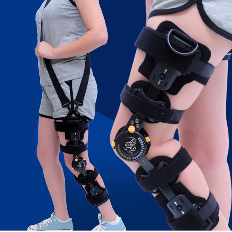 JORZILANO Knee Injury Protection Hinged Knee Brace Orthopedic Fixator Posture Corrector Patella Fracture Post-Op Hemiplegia