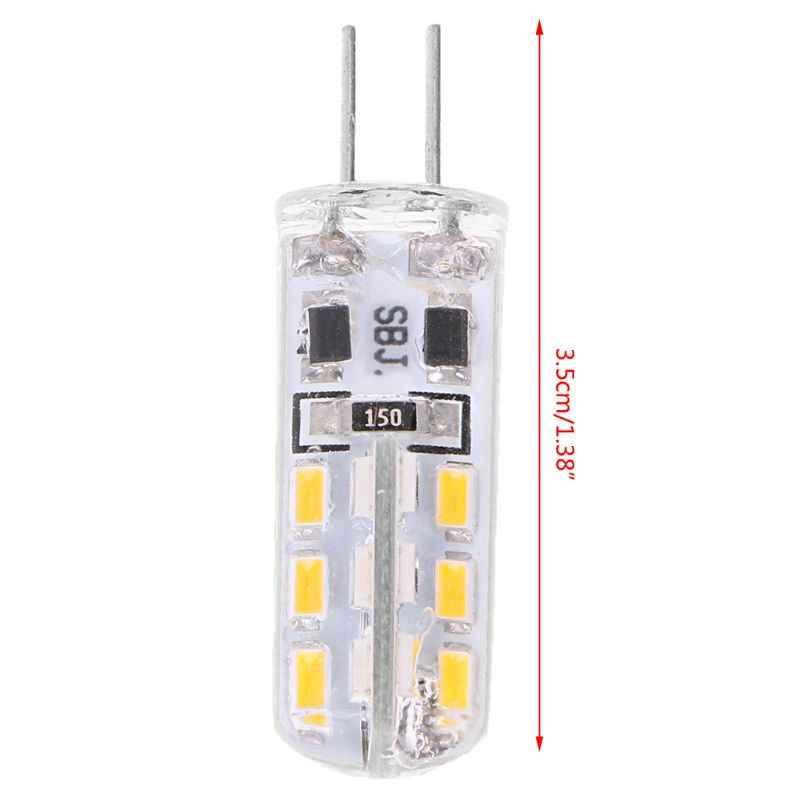 G4 силикагель 3 Вт 24 светодиодный SMD 3014 Холодный/теплый белый свет лампы DC 12