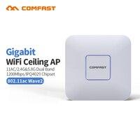2 шт. 1200 Мбит/с Му Mimo Gigabit Ethernet RJ45 беспроводной маршрутизатор Wi Fi 802.11b/g/n/ac WI FI ретранслятор Extender домашней сети AP