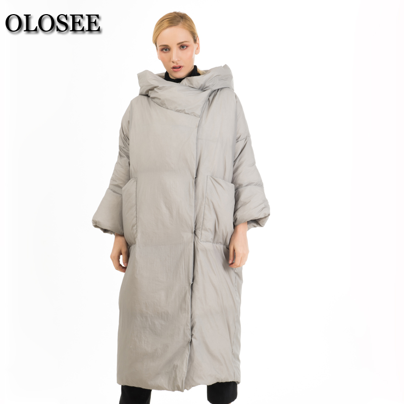 Winter Trendy Hooded 90% Duck Down Jacket Female Longer Thicker Down Feather Filler Warm Coat Chaqueta De Invierno Para Mujer цена