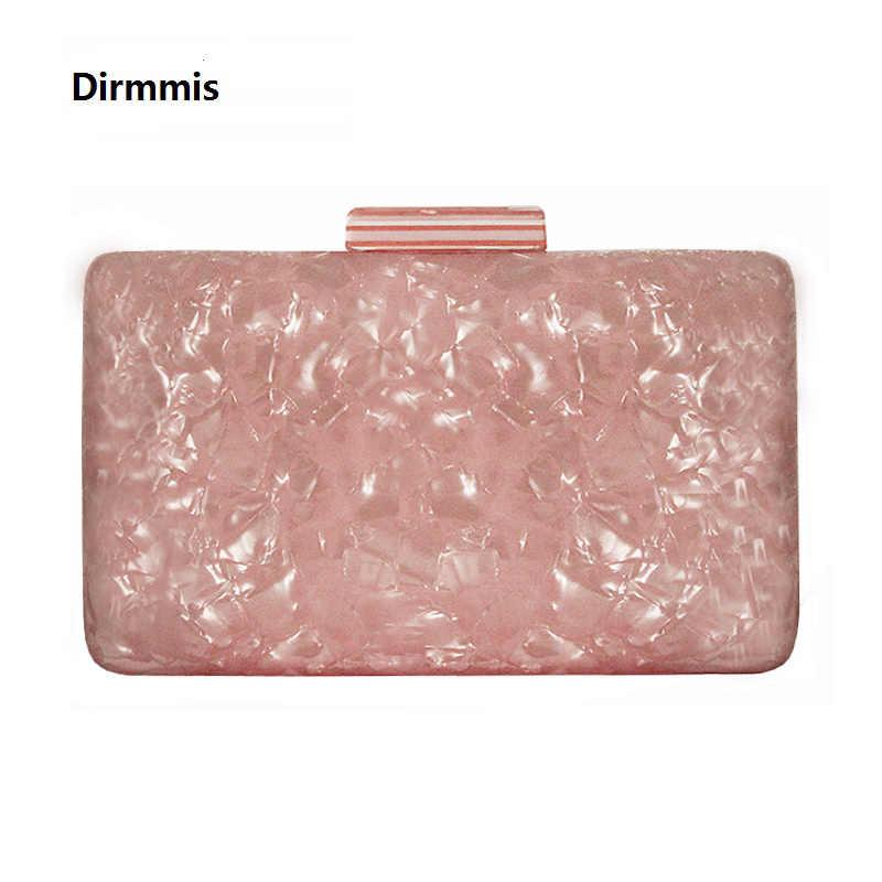 5b0410cee01 2019 New Brand Fashion Women Evening Bags Pink Cute Handbags Luxury Party  Prom Acrylic Bags Woman