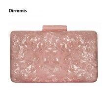 New Brand Fashion Women Evening Bags Pink Cute Handbags Luxury Party Prom Acrylic Bags Woman Wedding Bride Casual Clutch Purse