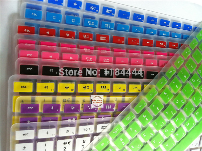 Uk Arabic Keyboard Stickers For Macbook Air Pro Retina 13