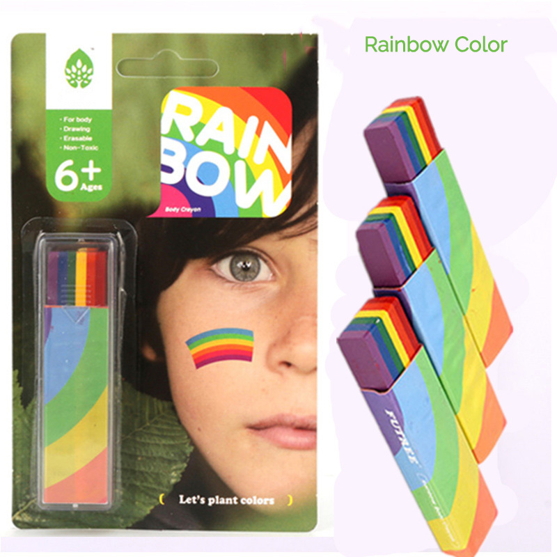 Body Painting UV Body Art Painting Makeup Paint Rainbow Art Tattoo Paint For The Face Paint Colored Child Kids Pen