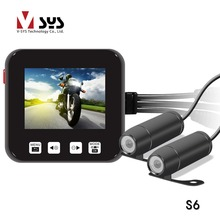 Vsys Новое обновление 2.0 дюйм(ов) ЖК-экран Мотоцикл камеры HD в Реальном 720 P S6 Мотоцикл камеры поддержка предварительной записи
