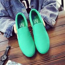 2019 nowy zielony brezentowych butów mężczyzna buty wygodne wsuwane buty oddychające sneakersy mężczyzna wygodne mokasyny do jazdy buty mężczyzna mieszkania