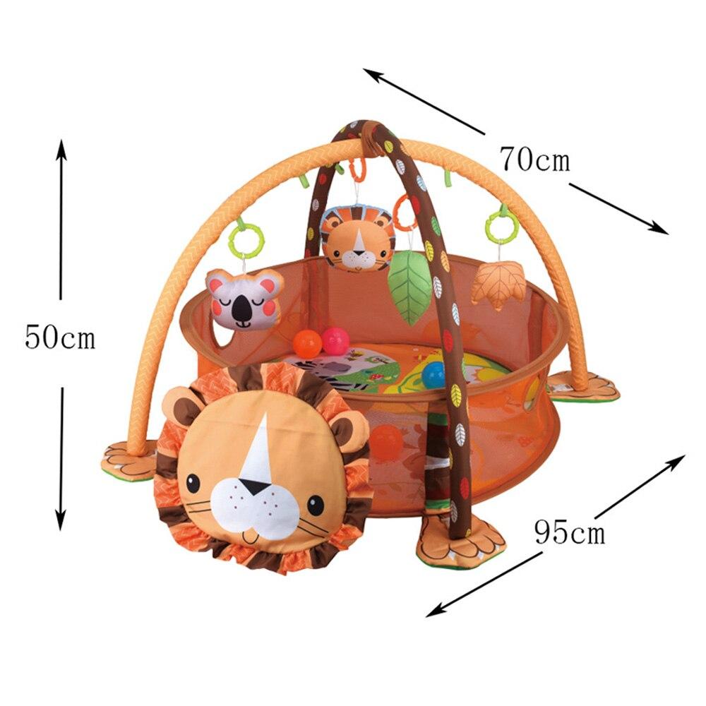 ginásio tapete rastejando no berçário tartaruga brinquedo