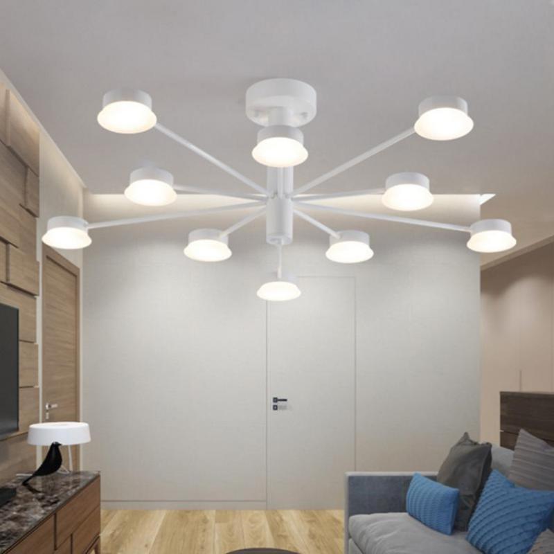 Cafe витрина LED art deco потолочные светильники для столовой домашнего офиса led Satellite коммерческого освещения Ресторан крыльцо огни