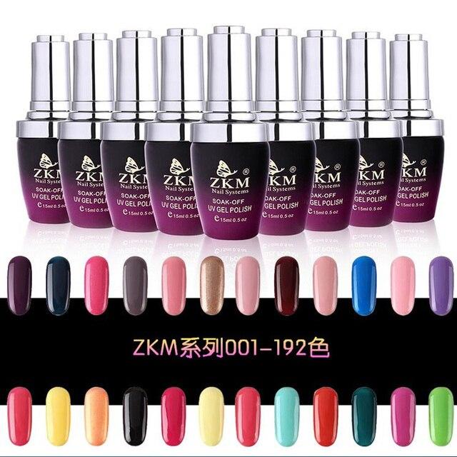 Мода Неон Ногтей Гель-Лак Soak Off УФ Красочные Ногтей Цвета искусство Для гель лака для ногтей длительный Гель Barbie резинка QQ кутикулы нефти