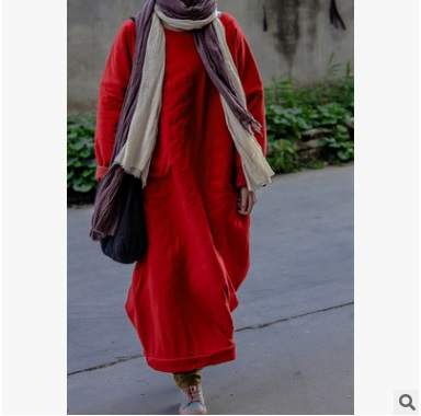 High quality new products on the market in autumn/winter day  2016, the original design of cotton loose big yards Women's cotton market day