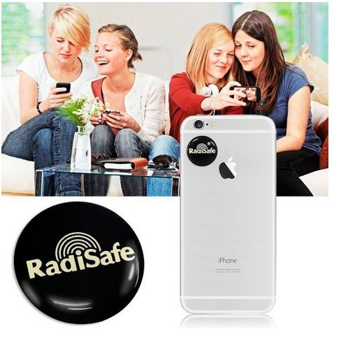 2018hot product realy work have test by Morlab lab shiled Radisafe 99.8% Radi Safe anti radiation sticker 500pcs/lot