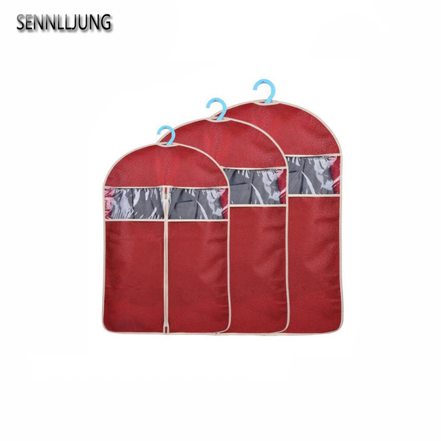 1 PCS Red Color Must-have Home Waterproof Garment Bag Clothes Suits Dust Cover Dust  sc 1 st  AliExpress.com & 1 PCS Red Color Must have Home Waterproof Garment Bag Clothes Suits ...