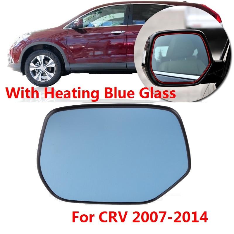 New Pair Set Power Side View Mirror Glass Housing Assembly for 02-06 Honda CR-V