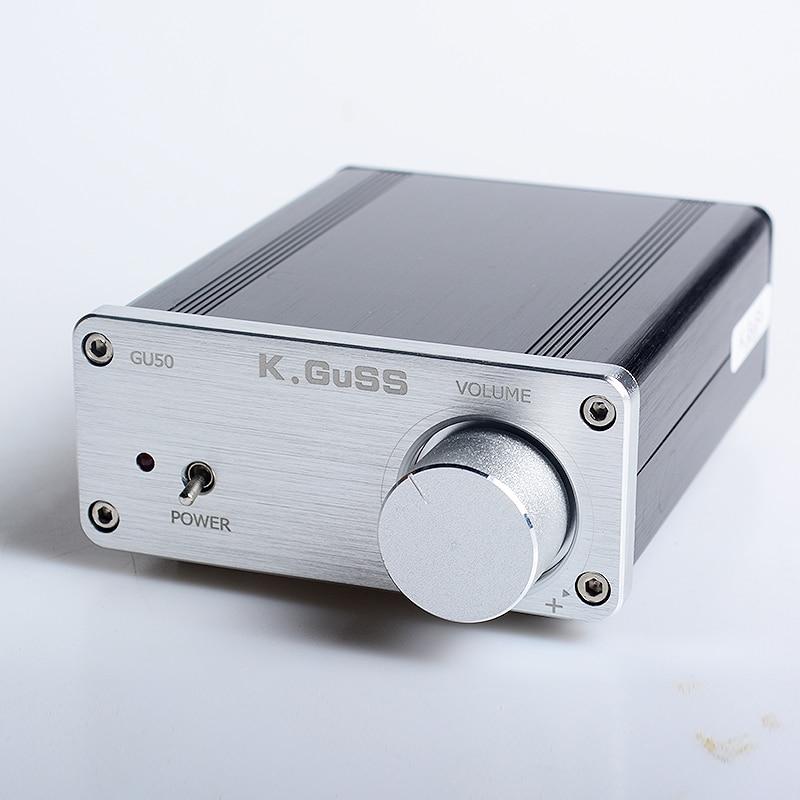 K.GuSS GU50 TPA3116 Võimendi 2017 Uus Hi-Fi 2.0 klass D Mini Borne - Kodu audio ja video - Foto 2
