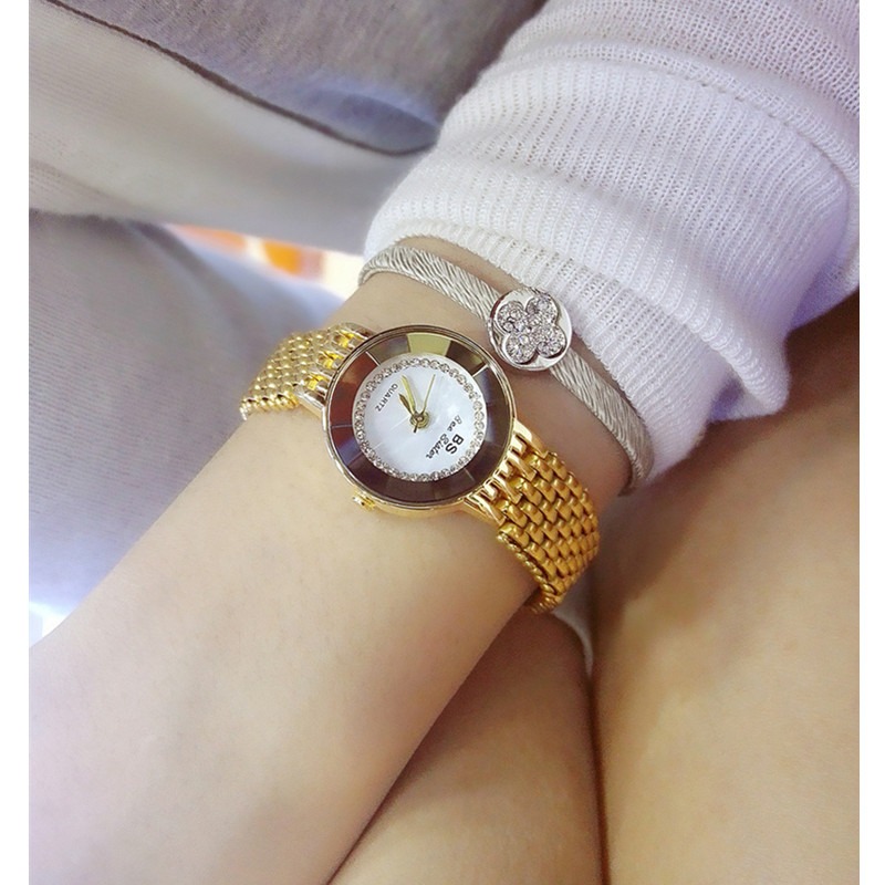 Womens High-End Bracelet Watch Fashion New Hot Ladies Custom  Full Rhinestone
