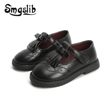 Girls Leather Shoes Kids School Shoes Ch