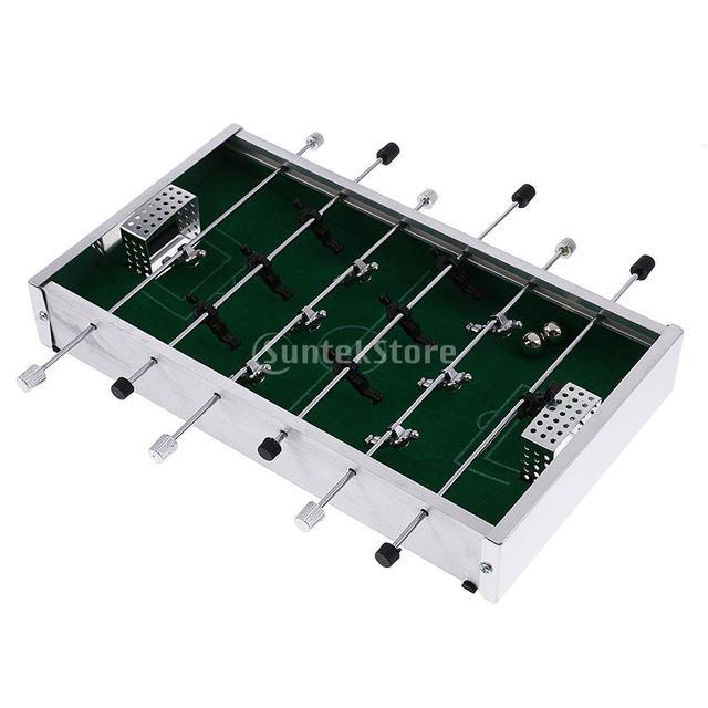 Mini Table Top Desk Football Soccer Game Set Foosball Metegol Table Sports  Kids Gift For Family