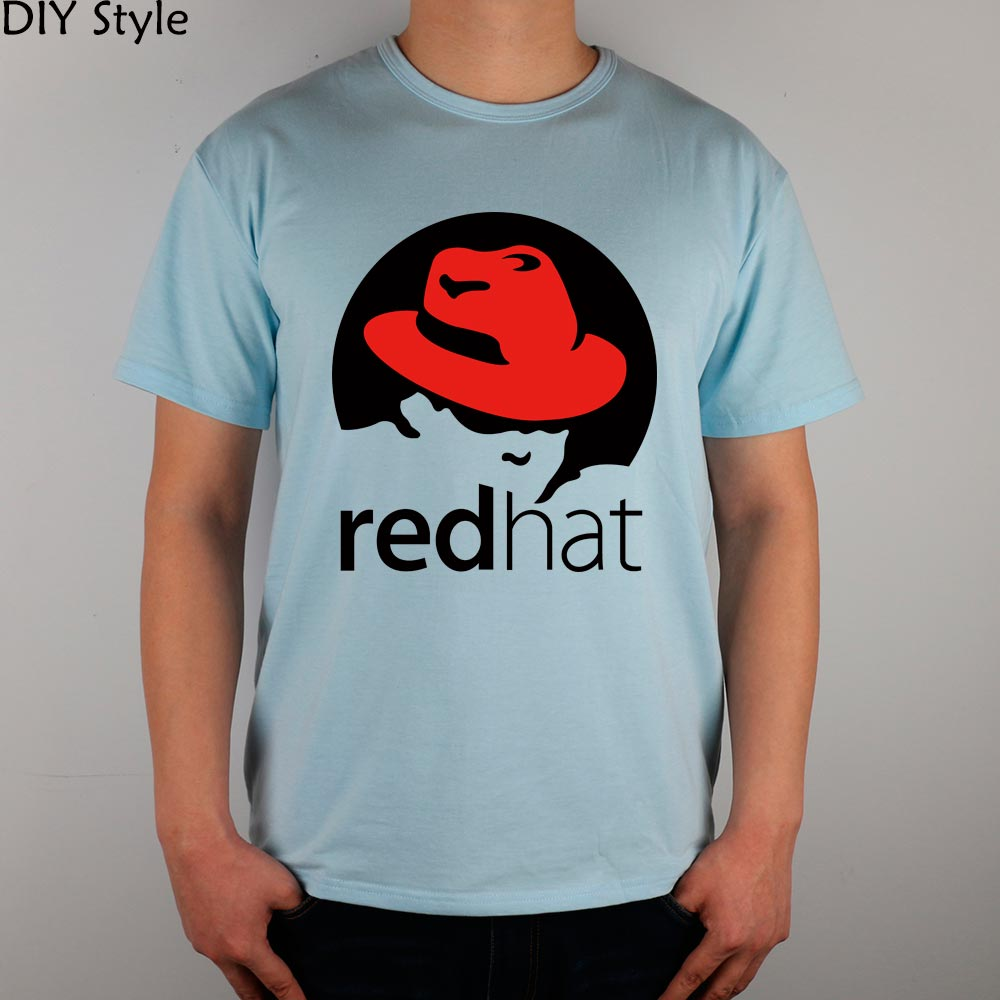 Little Red Riding Hood REDHAT LINUX T-shirt cotton Lycra top