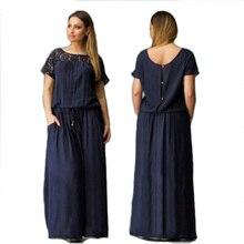 Short Sleeve Lace summer Dress big sizes 2016 new women Plus Size long dress maxi party vintage vestidos L-5XL