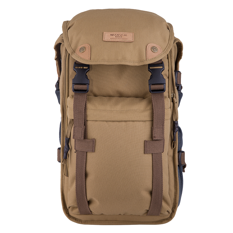 Winer Rover 65 photo dslr military green camera video black bag travel backpack with waterproof case for nikon canon three color free shipping new lowepro mini trekker aw dslr camera photo bag backpack with weather cove
