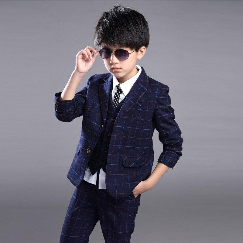 Boy boy western dress british children s vest three piece suit top of