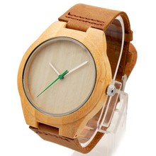 Hot sell Men Dress Watch Wooden Watches  Japan 2035 Quartz Movement Natural Wood Watch New Design Free Shipping Wholesale
