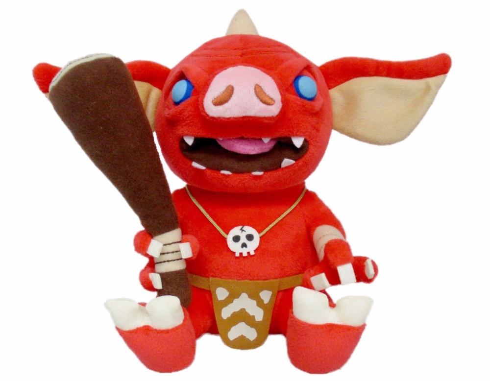 New Bokoblin Stuffed Plush Doll Toy 8 Legend of Zelda Breath of the Wild Little Buddy a m wyman new breath