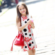 2016 cute fashion summer dresses for teen girls clothing frock designs