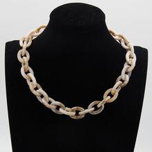 2018 новые модные акриловые украшения женское ретро ожерелье