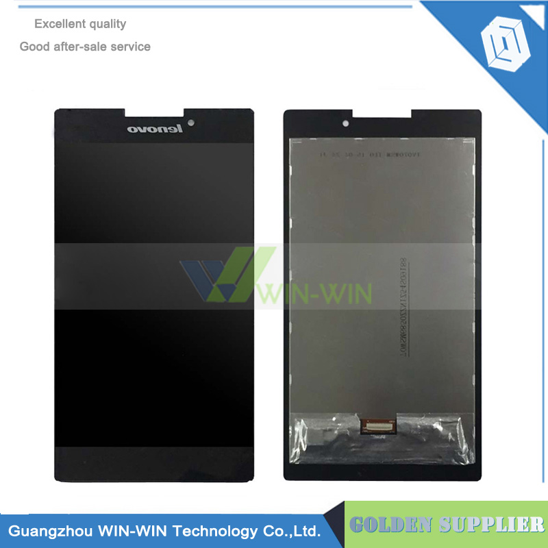 ФОТО For Lenovo Tab 2 A7-30 A7-30C LCD Display Touch Screen Digitizer Assembly Replacement for lenovo o Phab Plus PB1-770M lcd screen