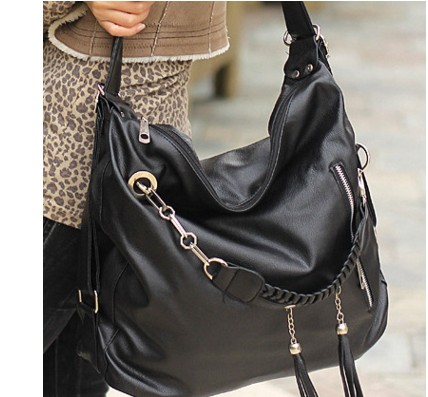 Free Shipping new female bag tassel large capacity shoulder bag quality multi purpose multi purpose travel