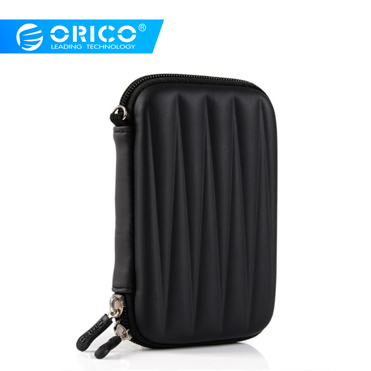 ORICO 2.5inch HDD Bag Hard Disk Case Zipper Pouch Mini Powerbank EVA Box Carrying Case Electronic Organizer For Samsung