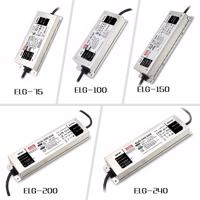 Meanwell Switching Power Supply Dimmable 100W 200W LED Driver Constant Current Single Output For Cob Cree