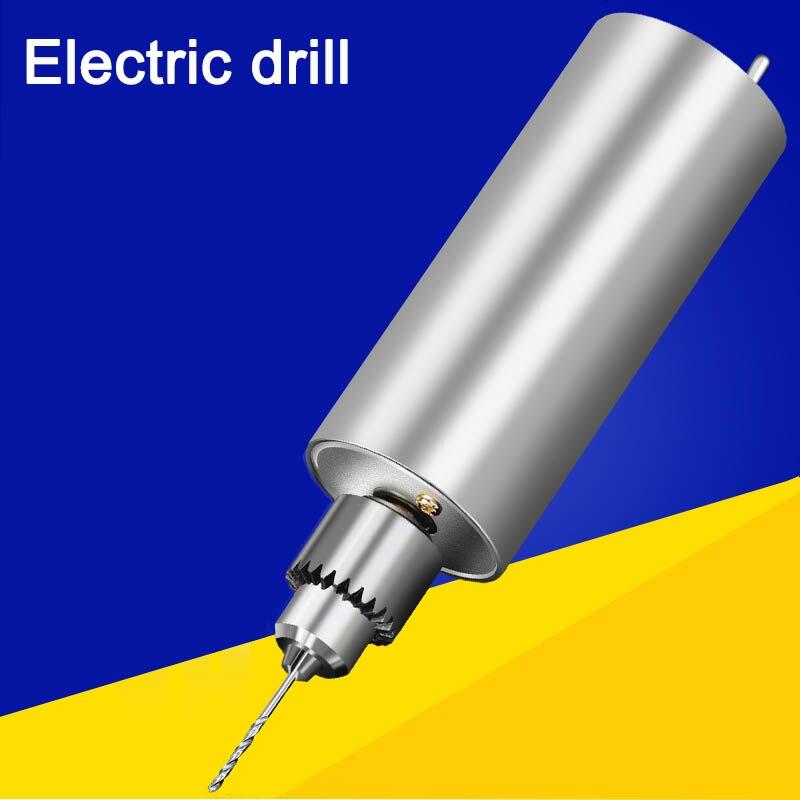Микро-точность маленькая электрическая дрель мини Нефритовая игра шлифовка бурение шлифовка полировка резка резьба diy ручная дрель