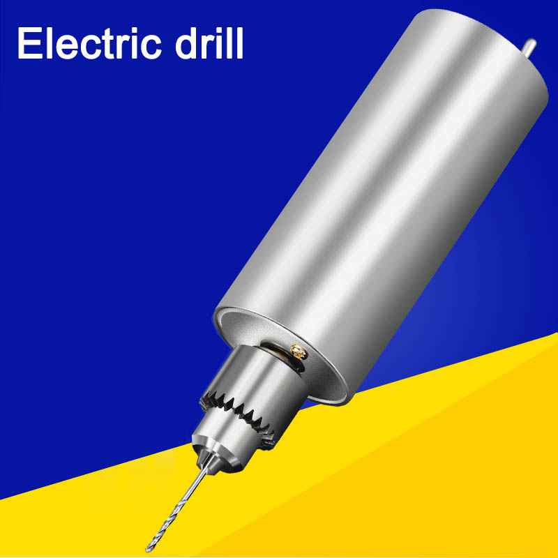 Micro precision small electric drill  mini jade play grinding  drilling grinding polishing cutting carving  diy hand drill