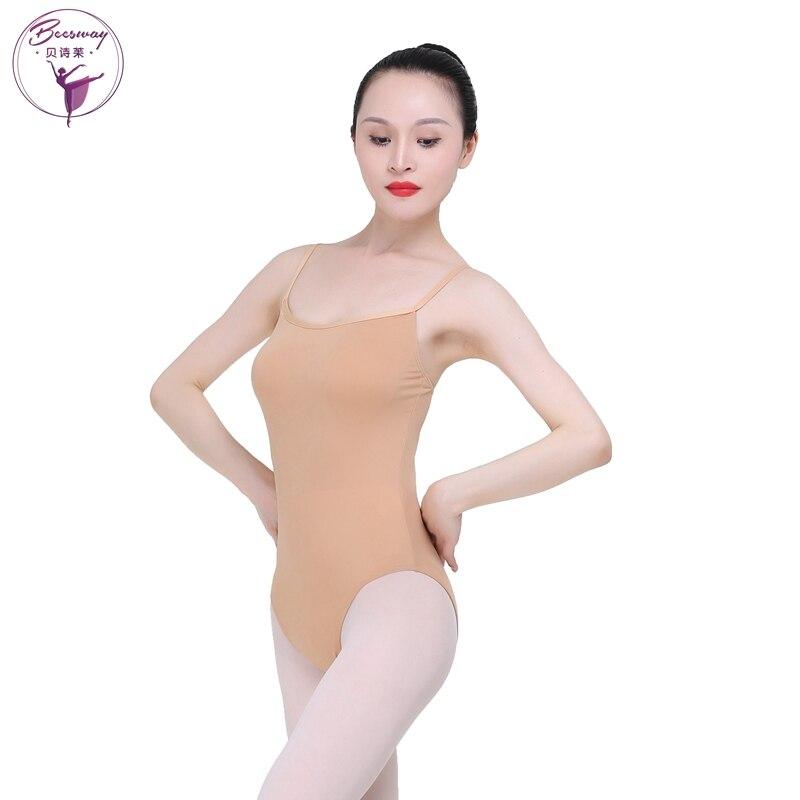 Gimnasia Leotard Ballet medias Nude Ballet leotardos para niñas ...