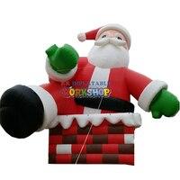 13 m גבוהה גדול מתנפח סנטה קלאוס דגם
