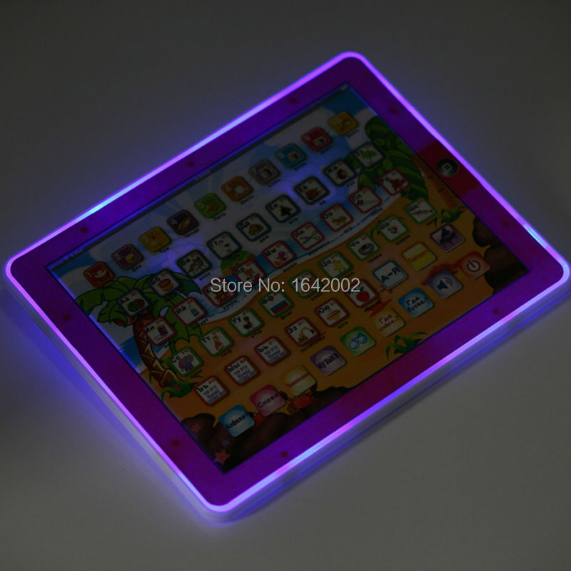 Educational-Toys-For-Childrens-tablet-Comput-in-Russian-language-learning-Y-Pad-for-Kids-ABC-Y-Pad-Russian-toy-with-Light-3