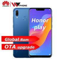 Huawe Honor Play мобильный телефон 4G 64G 6,3 дюймов Восьмиядерный мобильный телефон двойная задняя камера игровой телефон отпечаток пальца Лицо ID
