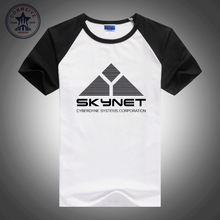 2017 Hot sale Fashion Clothes Cheap Science Fiction Film Skynet Cyberdyne Systems Terminator funny t shirt for men short sleeve