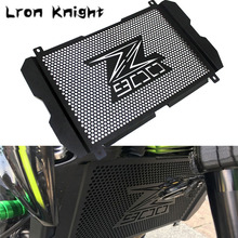 цена на For Kawasaki Z900 Z 900 2017 2018 2019 Motorcycle Accessories Radiator Grille Cover Guard Stainless Steel Protection Protetor