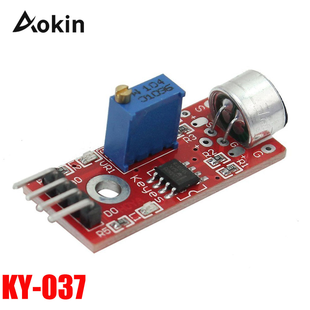Just 5pcs Smart Electronics Ky-038 Mic Voice Sound Detection Sensor Module Microphone Transmitter Smart Robot Car For Arduino Diy Kit Factories And Mines Accessories & Parts